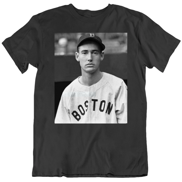 Ted Williams Boston Legend Baseball Fan T Shirt
