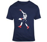 Julian Edelman Silhouette MVP New England Football Fan T Shirt