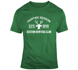 Boston Deer Hunting Club Boston Basketball Fan T Shirt