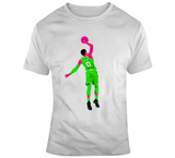 Boston Basketball Jayson Tatum Dunk Fan T Shirt