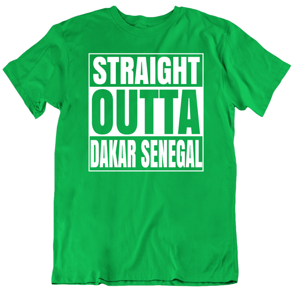 Tacko Fall Straight Outta Dakar Senegal Boston Basketball Fan T Shirt