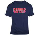 Defend The East Boston Baseball Fan T Shirt