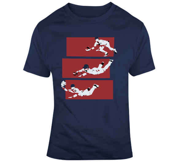 Andrew Benintendi The Catch Boston Baseball T Shirt