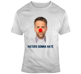 Max Kellerman Haters Gonna Hate Trash New England Football Fan T Shirt