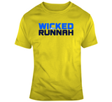 Boston Marathon Inspired 26.2 Miles City Wicked Runnah T Shirt