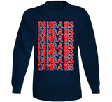 Dingahs Home Run Boston Baseball Fan T Shirt