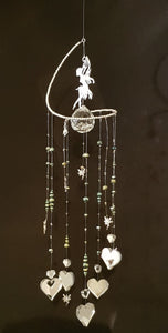 Flying Fairies Spiral Suncatcher