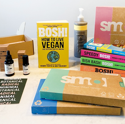 Win an epic and ethical new year prize worth almost £200 with BOSH! How To Live Vegan