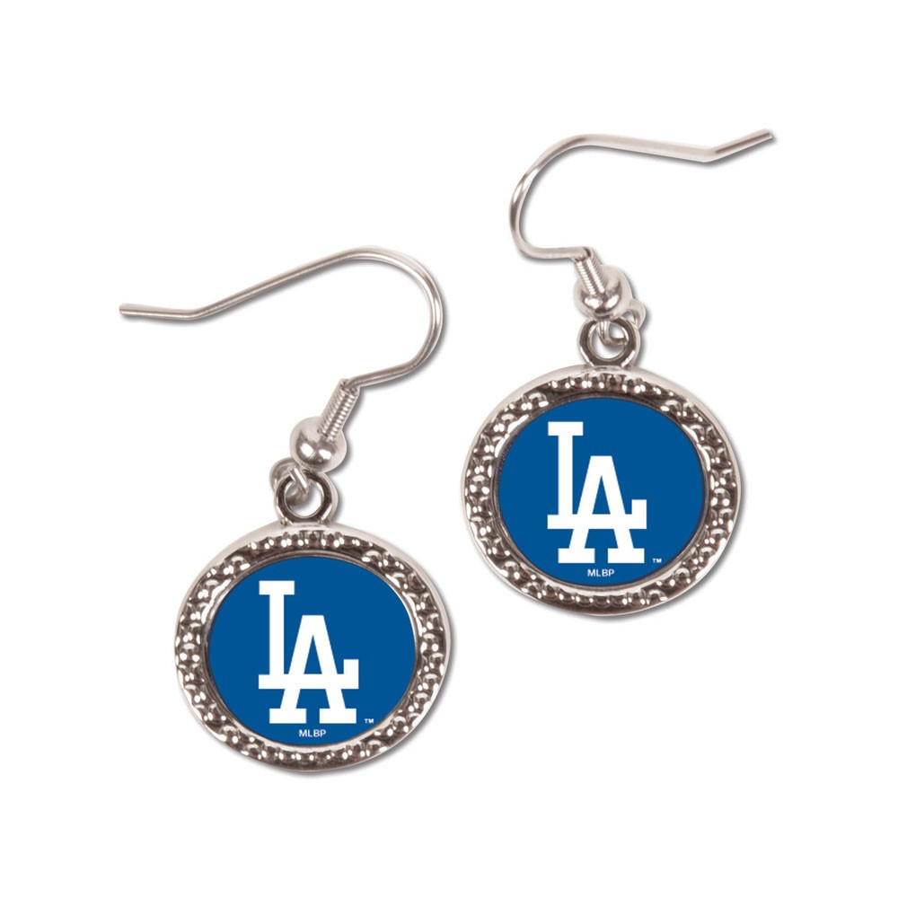 Los Angeles Dodgers  Earrings Jewelry Carded