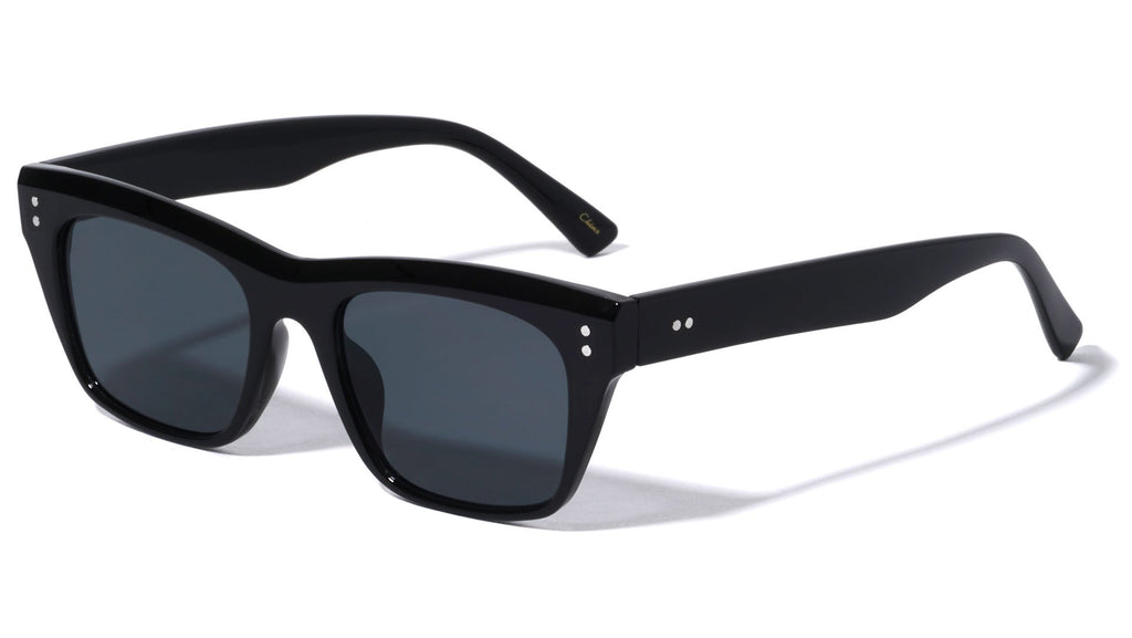 p6595 Thin Cat Eye Sunglasses