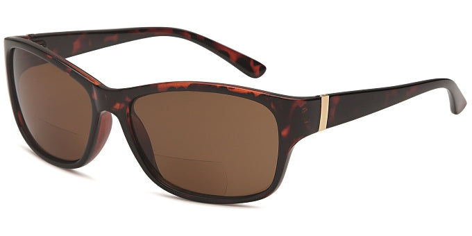 R822BS BIFOCAL WAYFARER STYLE SUNGLASSES