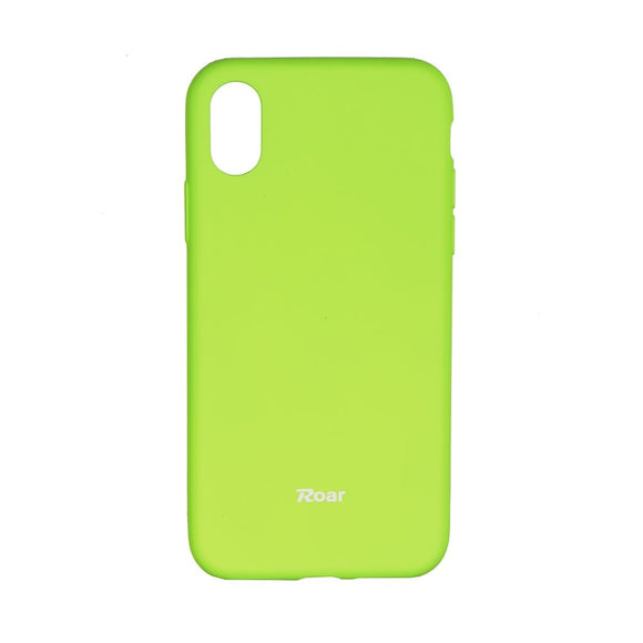 Roar Jelly Case zeleni za Apple iPhone X XS (5.8
