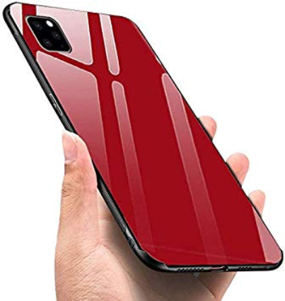 Zaščitni etui Glass rdeči za Apple iPhone 11 Pro (5.8