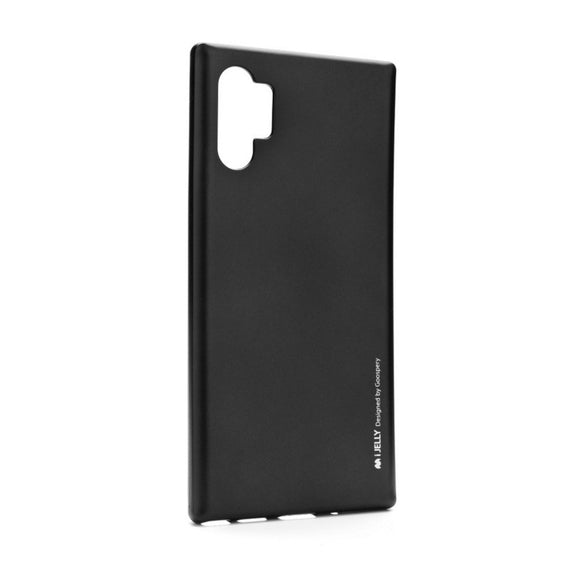 Mercury i-Jelly Case črni za Samsung Galaxy Note 10+ N975 - mobiline.si