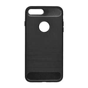 "Gel etui Carbon črni neprosojni za Apple iPhone 7 8 (4.7"") - mobiline.si"