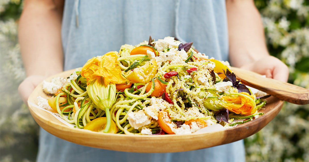 5 Tasty Ways to Serve Spiralized Veggies