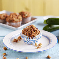 Zucchini Mulberry Muffins Recipe