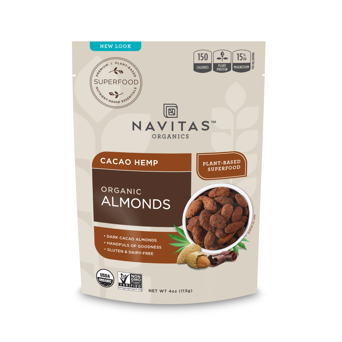Cacao Hemp Almonds
