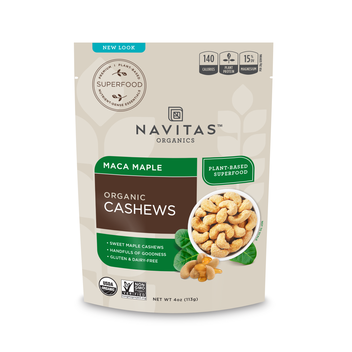 Maca Maple Cashews