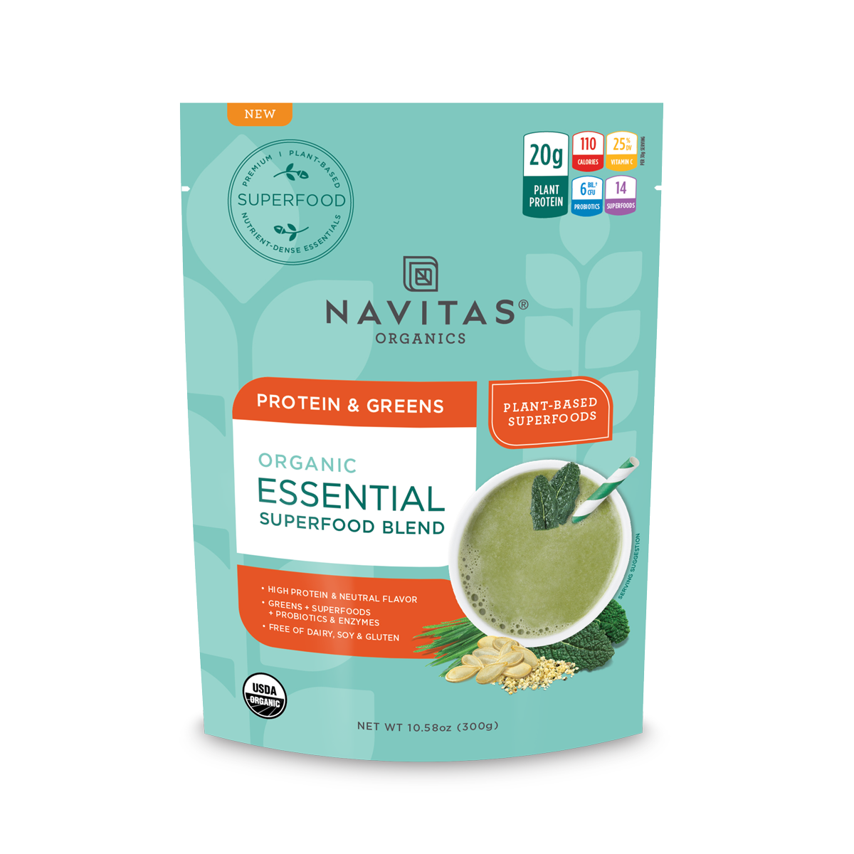 Protein & Greens Essential Blend