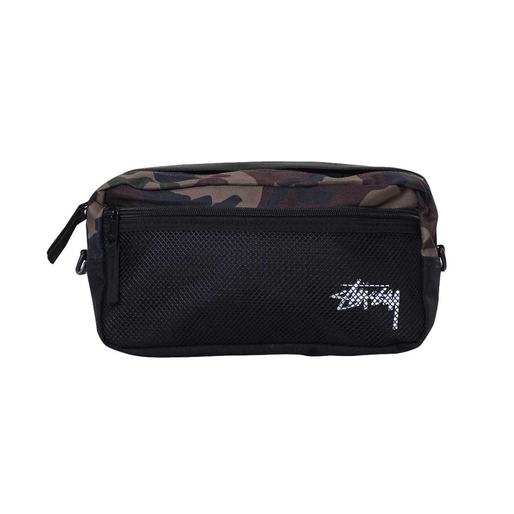 Stussy Stock Side Bag For Men, Army