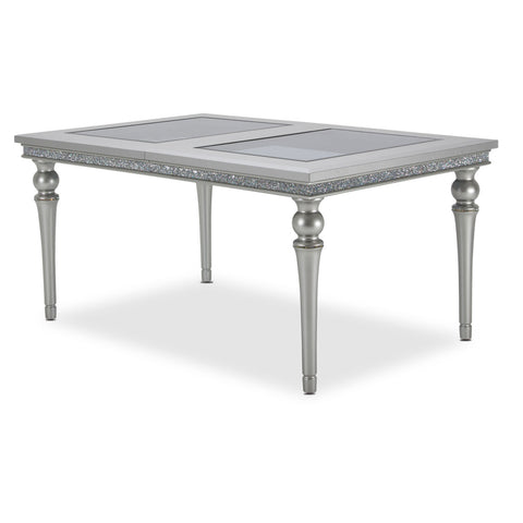 4 Leg Upholstered Dining Table
