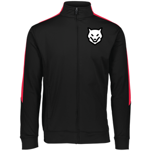 Mens sport - Augusta Performance Colorblock Full Zip- with wolf kanactus logo - Wolf Kanactus