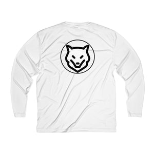 Men's Long Sleeve Moisture Absorbing Tee- LET YOUR INNER ANIMAL OUT - Wolf Kanactus