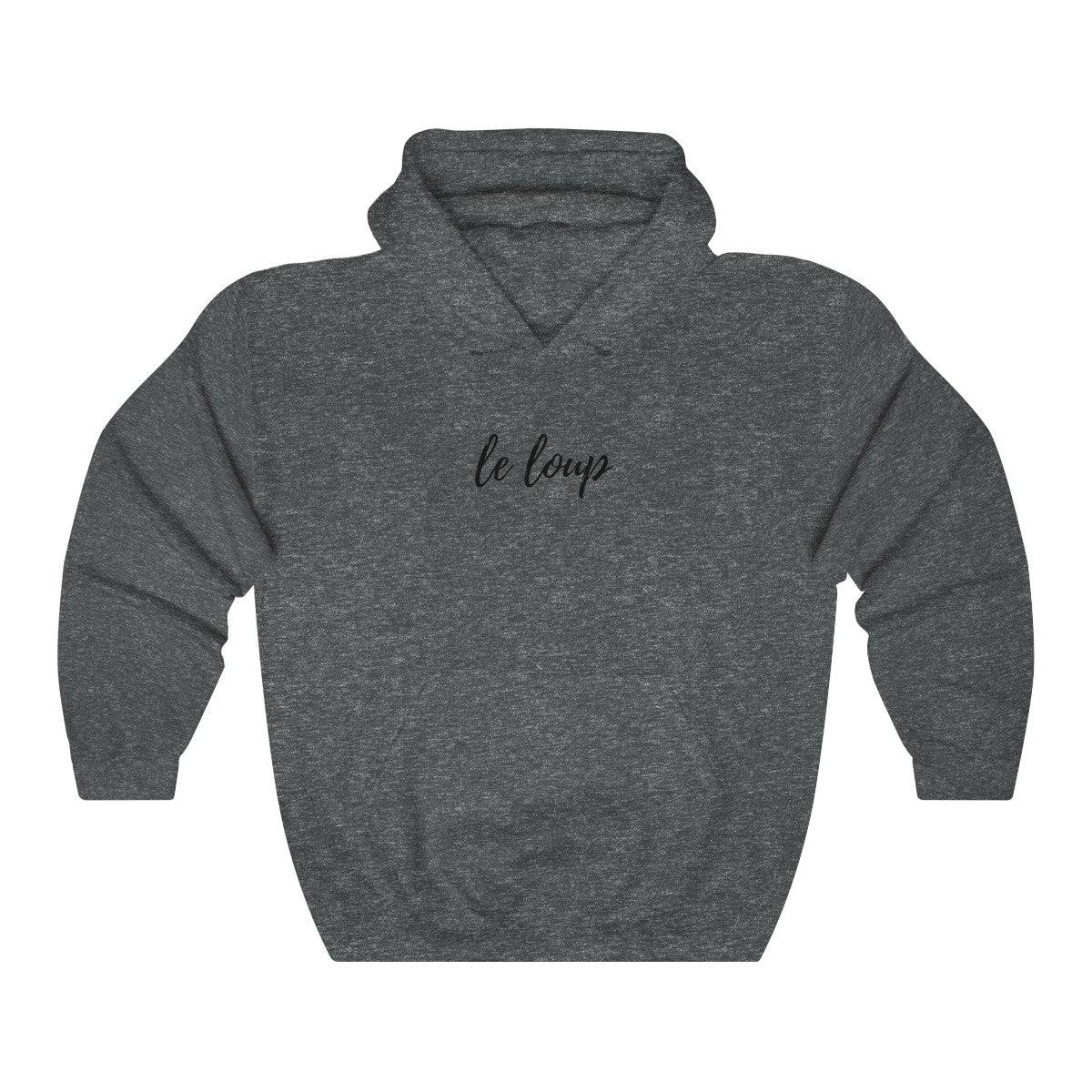 Unisex Heavy Blend™ Hooded Sweatshirt- Le loup - Wolf Kanactus