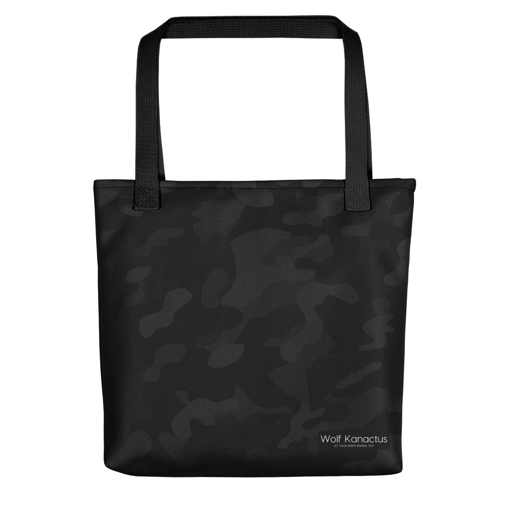 Tote bag- dark camouflage