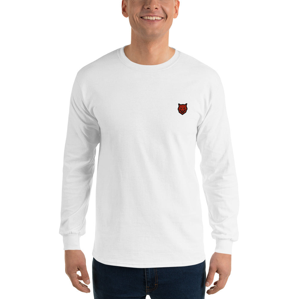Long Sleeve T-Shirt- long sleeve logo t- shirt from Wolf Kanactus - Wolf Kanactus