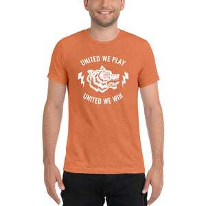 Short sleeve t-shirt- united we win and play from Wolf Kanactus - Wolf Kanactus