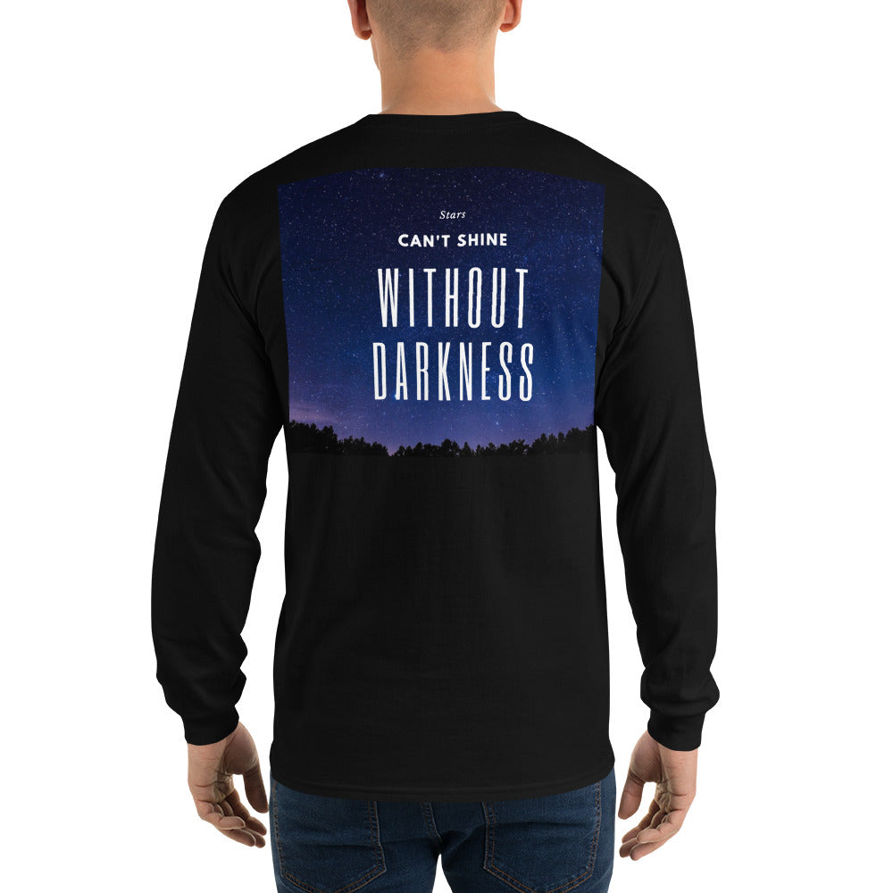 Long Sleeve T-Shirt from Wolf Kanactus with quote - Wolf Kanactus
