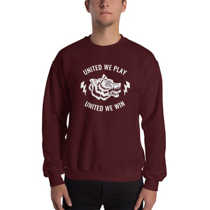 Sweatshirt- we fight and win united from Wolf Kanactus - Wolf Kanactus
