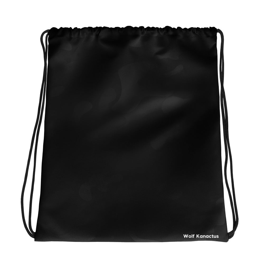 Drawstring bag- dark camouflage