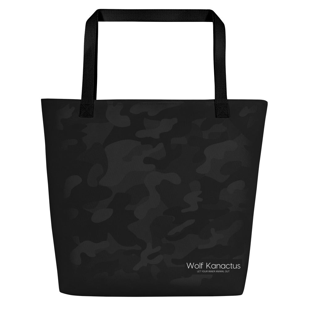 Beach Bag- dark camouflage