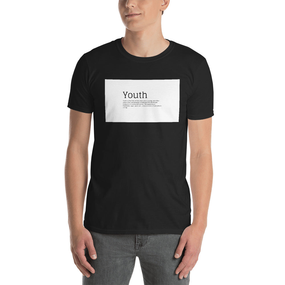 Short-Sleeve Unisex T-Shirt- Youth from Wolf Kanactus - Wolf Kanactus