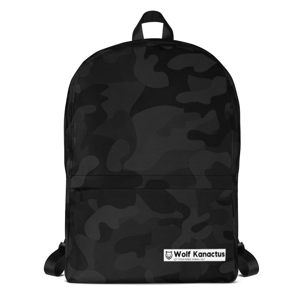 Backpack- dark camouflage
