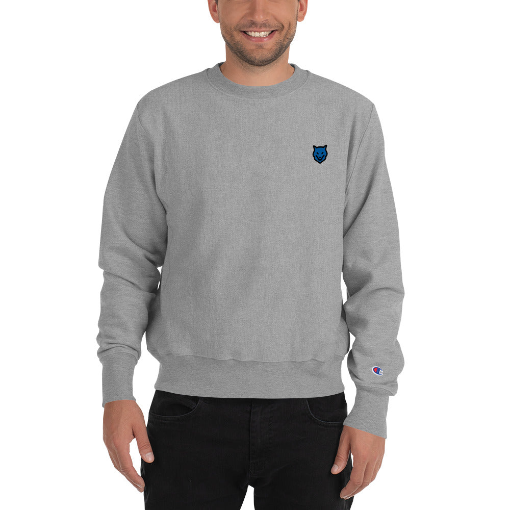 Wolf Kanactus x Champion Sweatshirt- Clean sweatshirt with logo - Wolf Kanactus