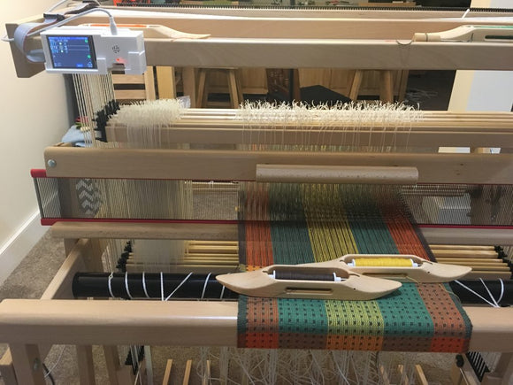 Finnish Doubleweave Placemats and TempoTreadle - Rerun