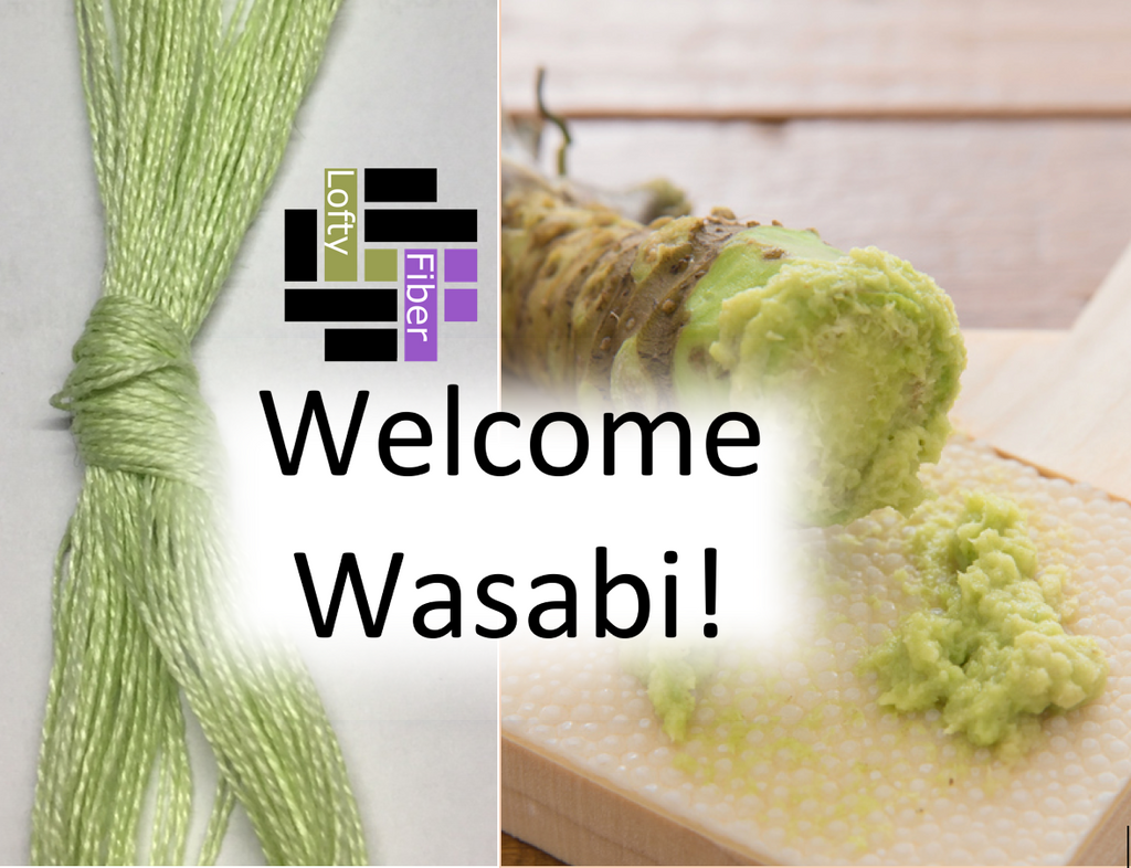 WASABI -  the newest color in the Euroflax colorline!