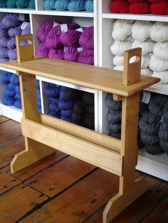 Harrisville Designs Small Adjustable Weaving Bench