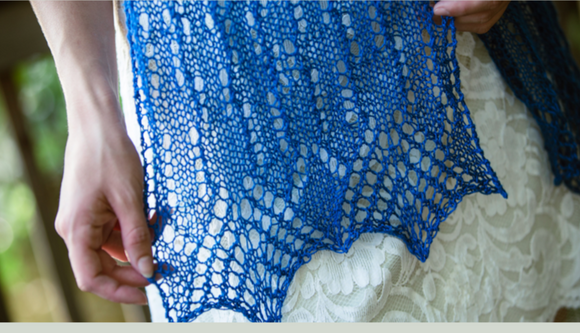 Aragem Scarf and Shawl Pattern by Susanna IC