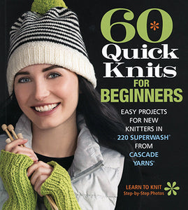 Book - 60 Quick Knits for Beginners