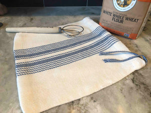 Handwoven Linen Bread Bag Yarn Kit