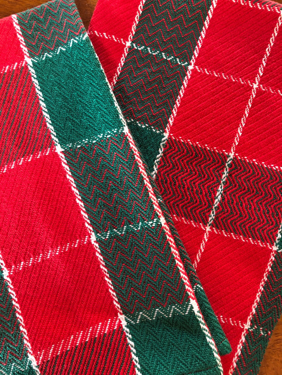 Christmas Towels - Pattern Download and WIF files