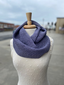 Huck Linen Cowl (PDF and WIF)