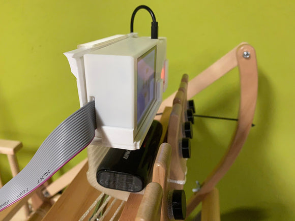 System Unit Mounting Attachment for Ashford Table Looms