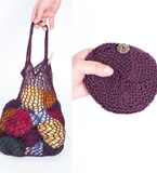 Crochet or Knitted Pouch Pattern - Free Download