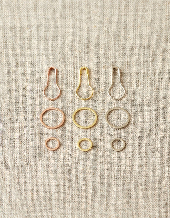 Cocoknits - Precious Metal Stitch Markers
